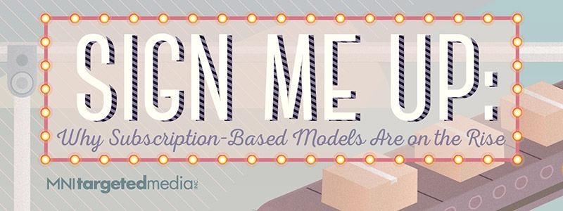 Sign Me Up: Why Subscription-Based Models are on the Rise